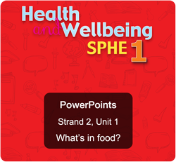 Sample PowerPoint - Strand 2, Unit 1: What's in food?