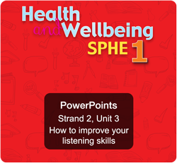 Sample PowerPoint - Strand 2, Unit 3: How to improve your listening skills